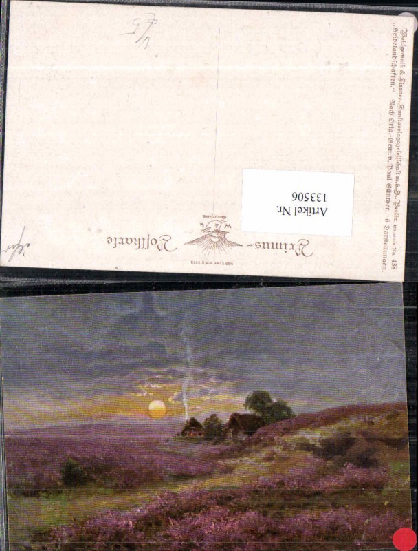 133506,Primus AK 438 Paul Günther Heidelandschaften Wohlgemuth Lissner