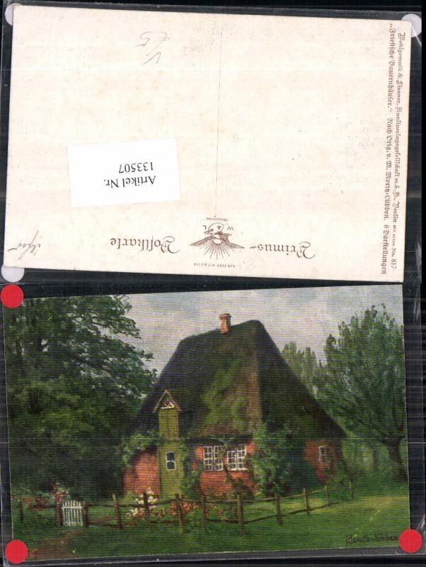 133507,Primus AK 817 M. Moritz Lübben Friesische Bauernhäuser Wohlgemuth Lissner