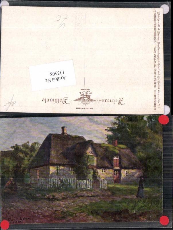 133508,Primus AK 817 M. Moritz Lübben Friesische Bauernhäuser Wohlgemuth Lissner