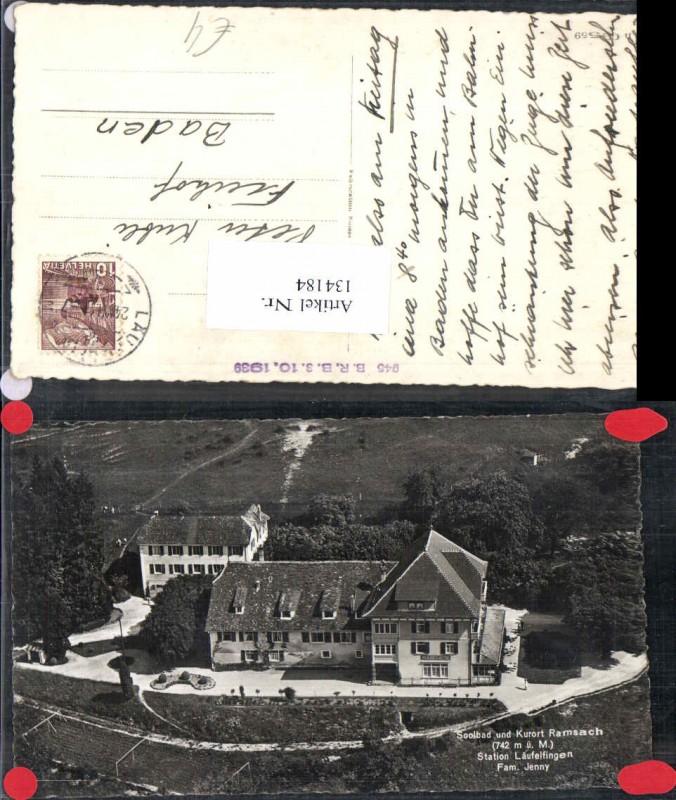 134184,Ramsach bei Läufelfingen Kt Basel Land 1939