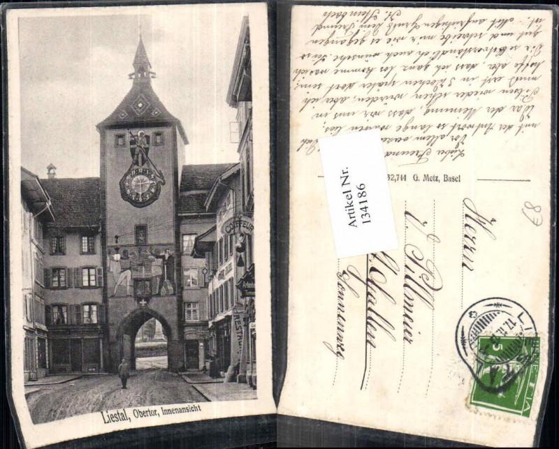 134186,Liestal Obertor Innenpartie Kt Basel Land