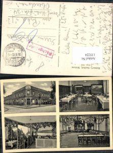 135224,Welzow Gasthaus Richter Feldpost 1940 Niederlausitz Spree Neiße