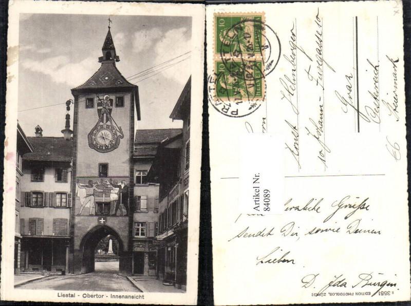 84089,Liestal Obertor Innenansicht Kt Basel-Land