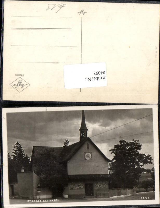 84093,St. Jakob bei Basel Kirche Kt Basel-Land