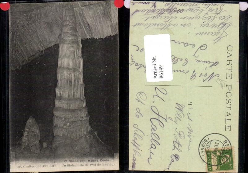 86149,Reclere Grottes Un Stalagmile Kt Jura