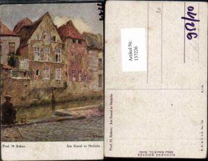 137226,prof. M. rabes Am Kanal in Mecheln