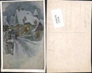 137238,F. Kopallik Dorf im Winter