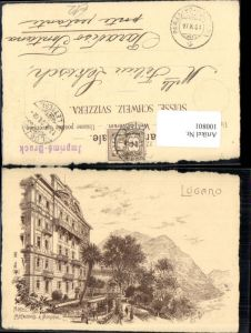 100801,Lugano Hotel Metropole & Monopol Kt Tessin