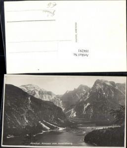 104291,Almtal Almsee vom Ameisberg pub F.E. Brandt 1933
