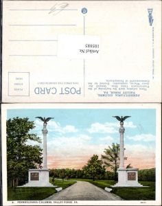 105885,Valley forge Pennsylvania columns