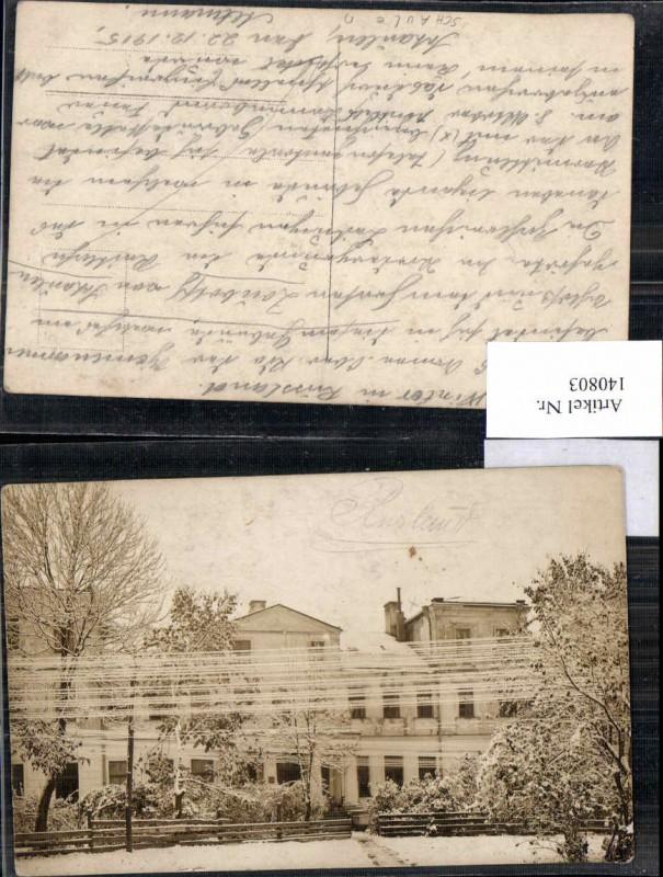 140803,FotoAK Schaulen Litauen Šiauliai Siauliai 1915 RAR