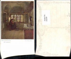 142309,Karl Zewy Bei Grossmutter