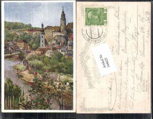 144625,Dt Schulverein 433 Krummau Krumau E.F. Hofecker