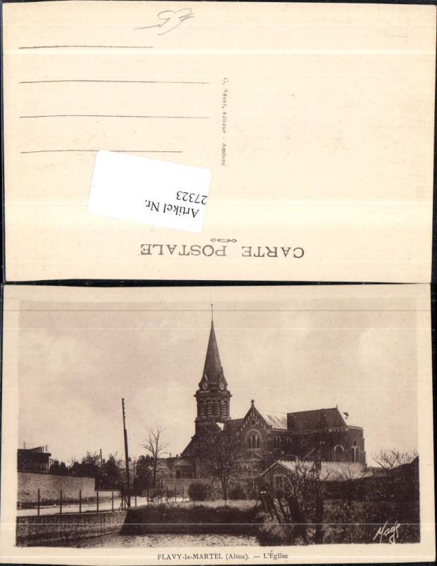 27323,Flavy le Martel L Eglise