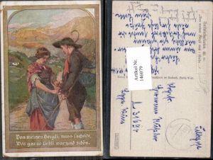 146079,A. Marussig Volksliederkarte 10