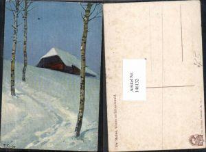 146132,Fr. Reiss Winter im Schwarzwald Joh. Elchlepp Freiburg im Breisgau Nr 8