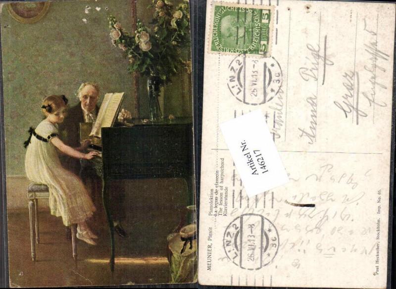 146217,Meunier Pianolektion Piano Klavier Paul Heckscher 65