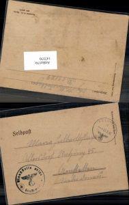 147370,WW2 WK2 Feldpost 1942 Dienststelle 09199 n. Allersdorf Amstetten Halbartschlager