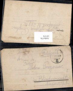 147378,WW2 WK2 Feldpost Franz Pregenzer an Helene Pregenzer Blindenmarkt Amstetten St Georgen Ybbs