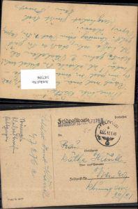 147396,WW2 WK2 Feldpost 1943 Käthe Hänkl Wien