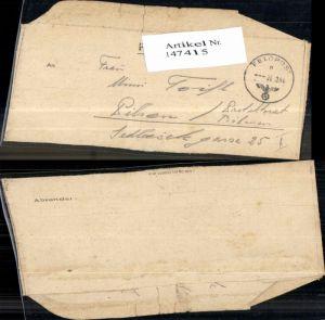 147415,WW2 WK2 Feldpost an Mimi Toifl Pilsen Böhmen 1944