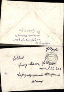 147421,WW2 WK2 Feldpost Göstling a.d. Ybbs an Franz Mayer Luftgaupostamt München