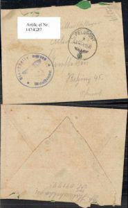 147427,WW2 WK2 Feldpost Halbartschlager Allersdorf Amstetten Ratzing
