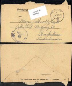 147432,WW2 WK2 Feldpost n. Allersdorf Amstetten Ratzing Halbartschlager