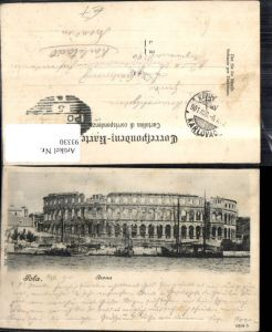 93330,Pola Arena Ansicht 1901