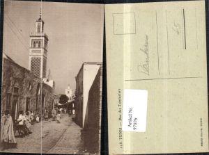 97876,Tunis Rue des Teinturiers Strassenansicht