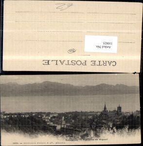 110825,Lausanne Vue prise du Signal Kanton Waadt