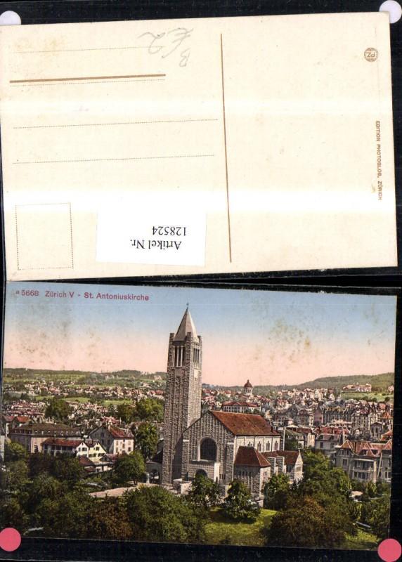 128524,Zürich St. Antoniuskirchen Kt. Zürich