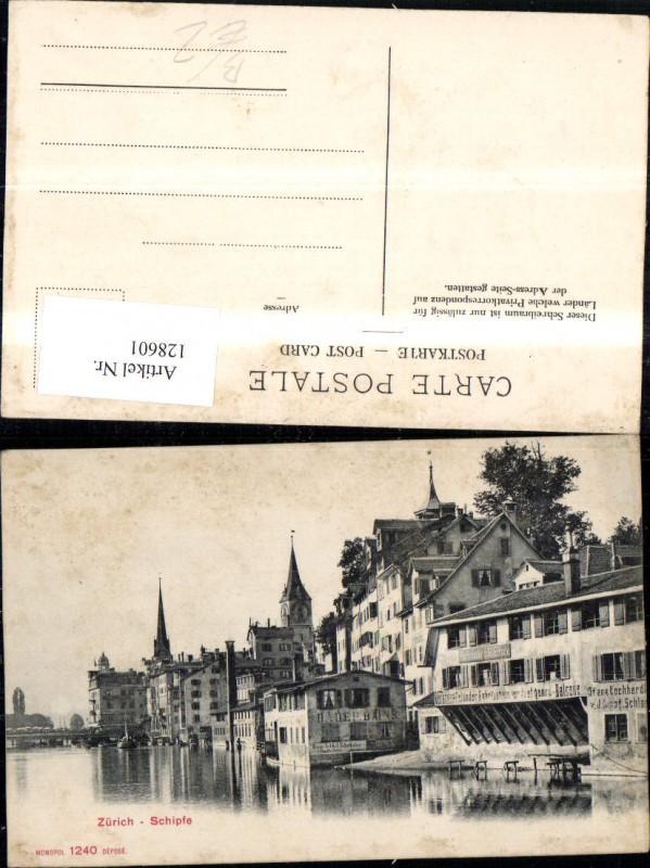 128601,Zürich Schipfe Ansicht Kt. Zürich 0