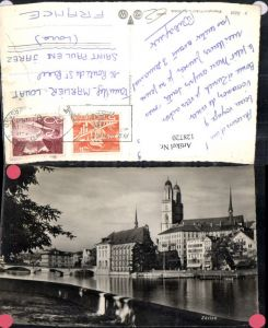 128720,Zürich Brückenansicht Kt. Zürich