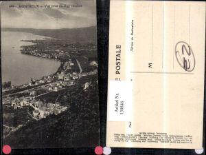 130846,Montreux Vue prise du Rigi vaudois Ansicht Kt. Waadt