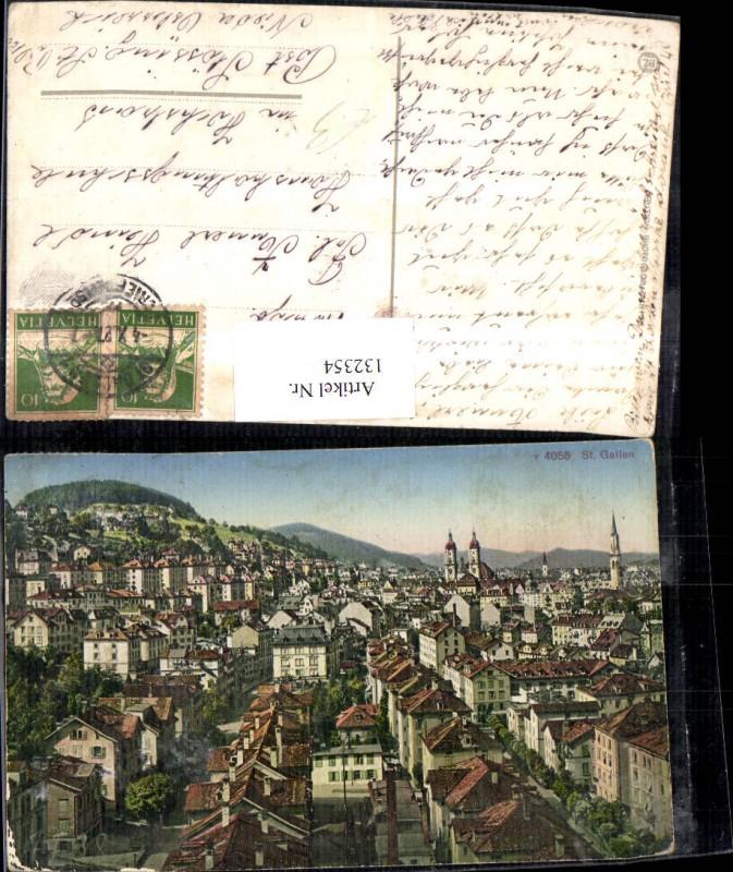 132354,St Gallen Ansicht 1927 Kt. St Gallen