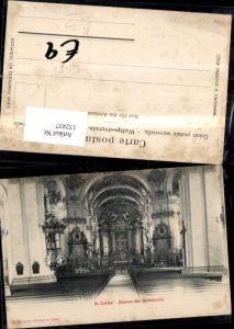 132437,St Gallen Stiftskirche Innenansicht Kt. St Gallen