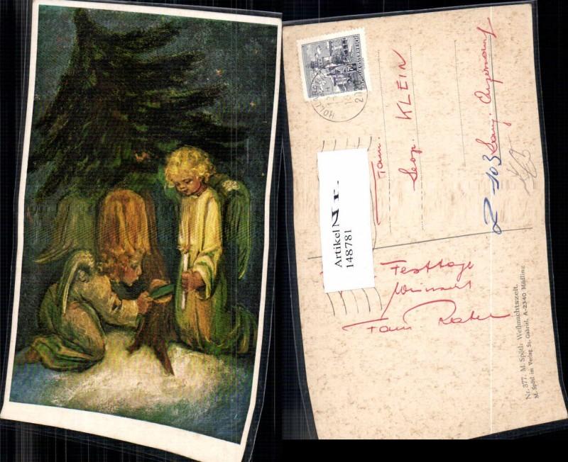 148781,M. Spötl Schwaz Nr. 377 Engel Weihnachten Weihnachtszeit