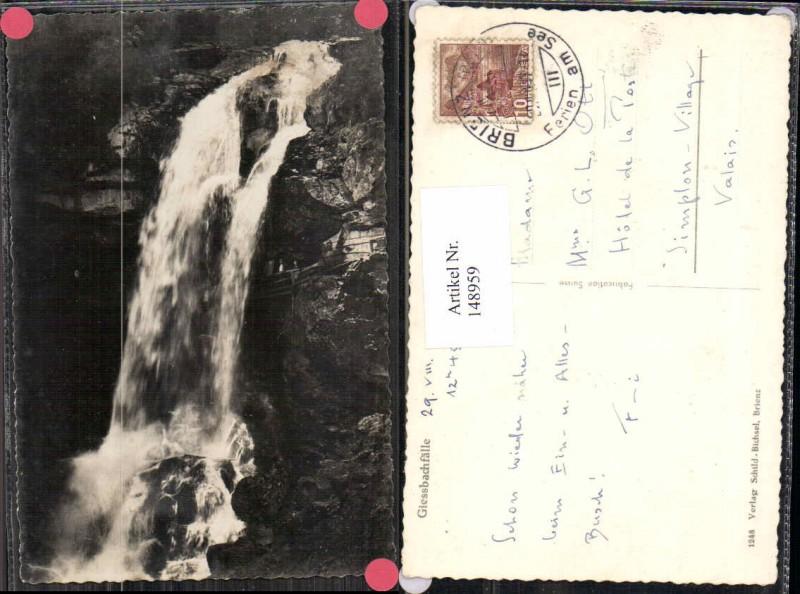 148959,Wasserfall Giessbachfälle bei Brienz Kt Bern