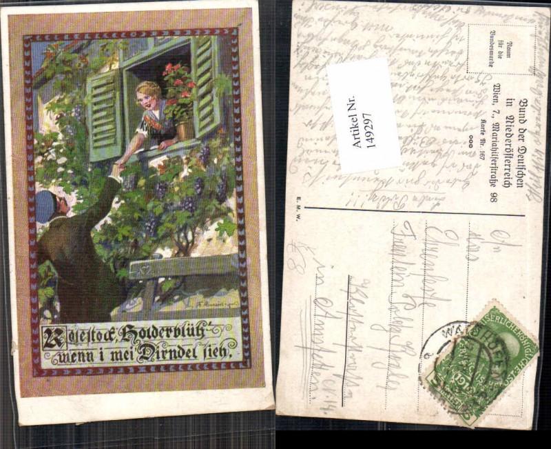 149297,Bund d. deutschen in Niederösterreich 167 F. Gareis