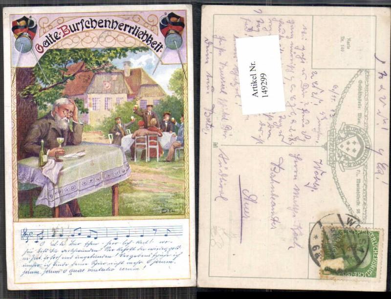 149299,Bund d. deutschen in Niederösterreich 149 Ezel signiert