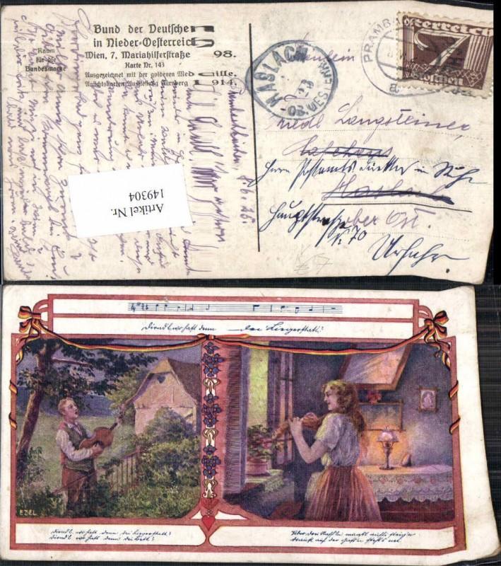 149304,Bund d. deutschen in Niederösterreich 143 Ezel Minesänger