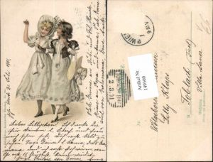 149360,Jugendstil Art Nouveau Kinder Kleid Mode pub Julius Kopp 301 München