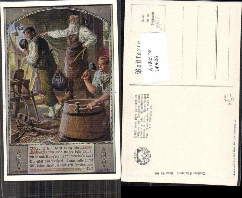 149606,Dt Schulverein 803 F. Kuderna Schmied