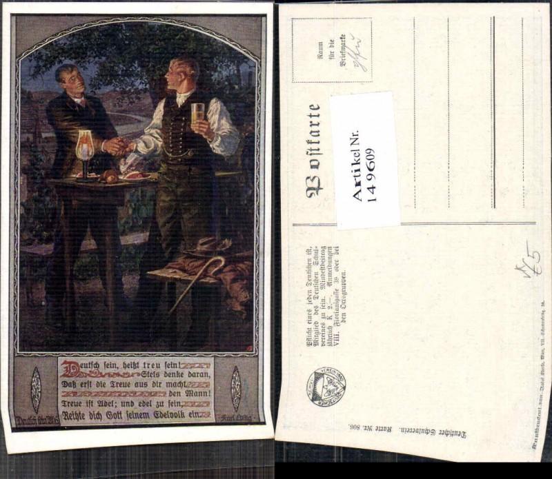 149609,Dt Schulverein 806 F. Kuderna Wein deutsch sein heisst