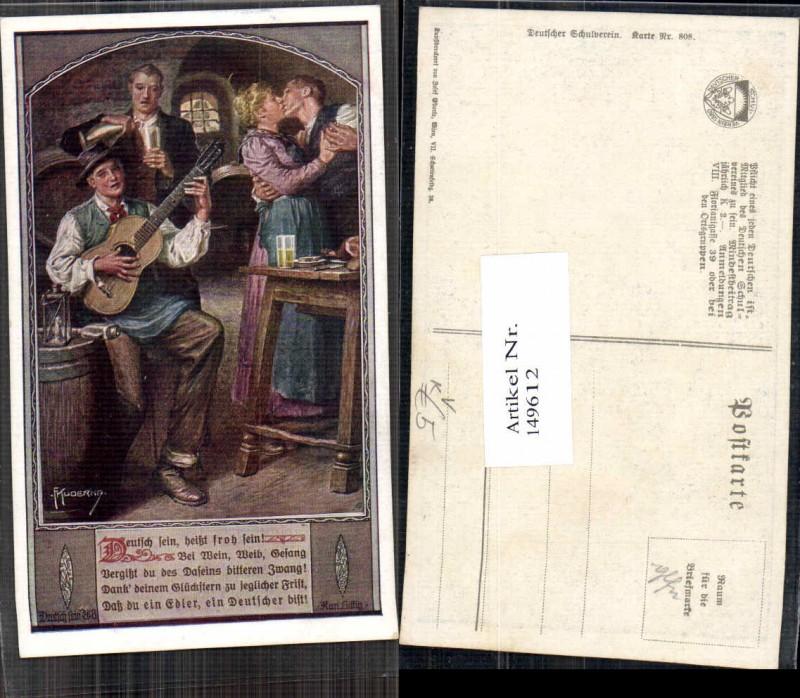 149612,Dt Schulverein 808 F. Kuderna Gitarre