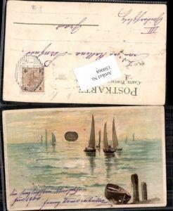 150068,Litho Winkler & Schorn Sonnenschein Postkarte Serie VIII Sonne