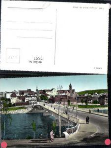 155377,Aarau Ansicht Brücke Kt Aargau