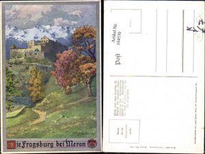 164530,Dt Schulverein 336 Fragsburg b. Meran sign E. F. Hofecker