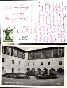 164795,Zeillern bei Amstetten Genesungsheim Ansicht Arkadenhof 1955